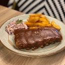 BBQ Baby Pork Ribs ($24)