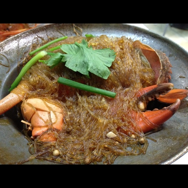 Crab tanghoon