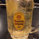 #highball #kakubin #suntorywhisky #motsunabegoku #burpple