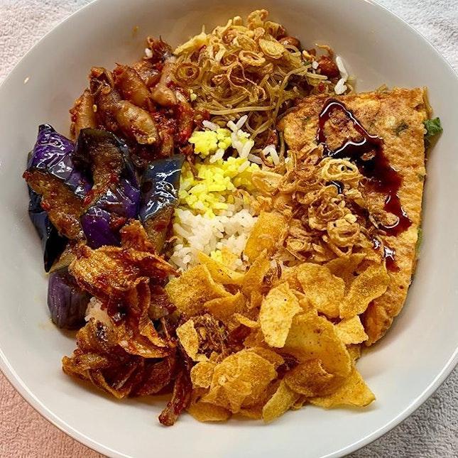 #nasirames #bihun #telordadar #eggplant #sambalsotong #keripikkentang #burpple