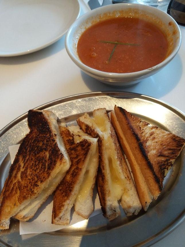 Charred Sandwich + Charred Toast