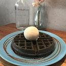 Charcoal Waffle