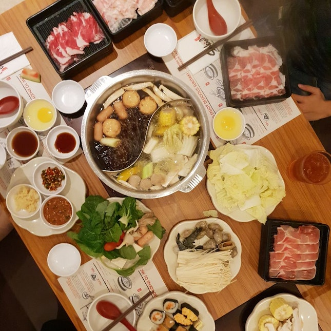For All You Can Eat Steamboat