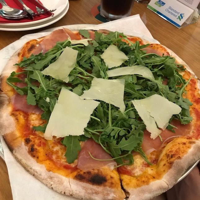 Parma Ham Pizza