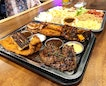 XXL Platter ($59.90) - [Chops Sides & Grill] Platter consist of steak, fish filet, chicken cutlet, pork cutlet, chicken chop, lamb and grilled salmon.