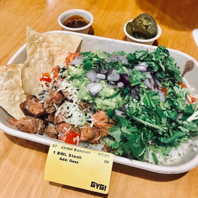 Beef Burrito Bowl ($11.70)