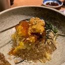 uni fried rice (omakase) 😻