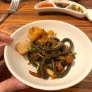squid ink fish noodles