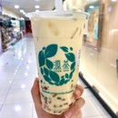 alisan milk tea + rainbow QQ! 💚