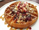 Peanut Butter And Jelly Waffles $12.50