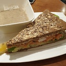 Smoked Salmon Sandwich ($8.90)