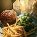 Oriole Truffle Burger ($24)