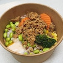 Spicy Minced Chicken & Mushroom Rice Bowl ($7.20)
