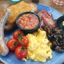 Full Melba Cooked Breakfast ($25)
