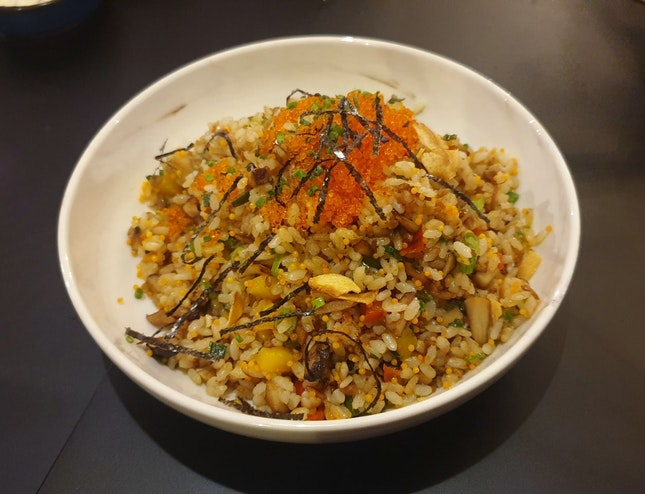 Smoked Fish Fried Rice ($16)