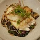Roasted Cod & Soba Salad ($22)