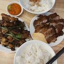 Burnt Chilli Chicken And Pork Chop