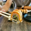 Salmon Aburi Roll ($16.90)