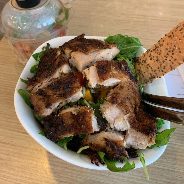 CYO salad ($9.90 + $4)