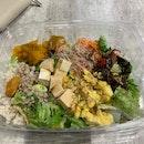 Basic Salad w 5 Toppings ($5.80)