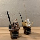 Nutella and S'mores Softserve