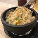 Shrimp Fried Rice With Minced Meat & Cai Poh ($14.90)