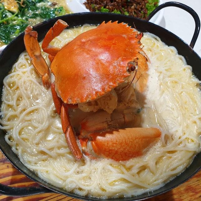 Claypot Crab Beehoon