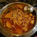 Army Stew With Ramen