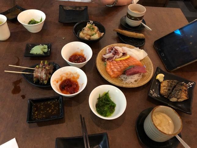Fantastic Ala Carte japanese buffet!