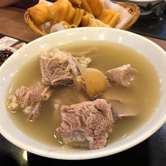 🐰 Pork Ribs Soup (Large, S$11.40++).