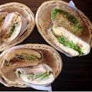 Warm Sandwiches In A Basket