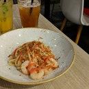Sakura Prawn Pasta