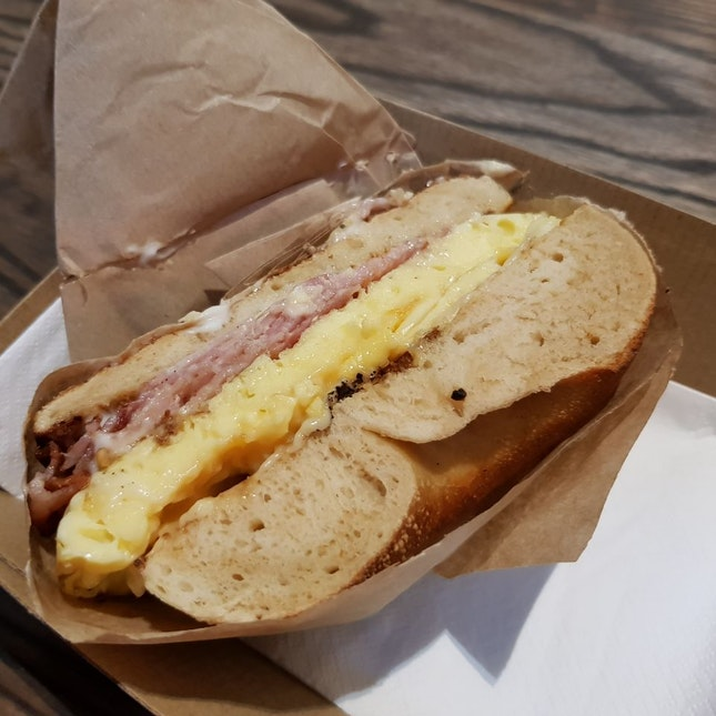 Classic bacon egg $10