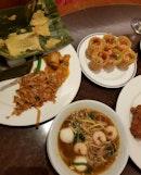 Otah, Kueh Pie Tee, Prawn Mee And Char Kway Teow