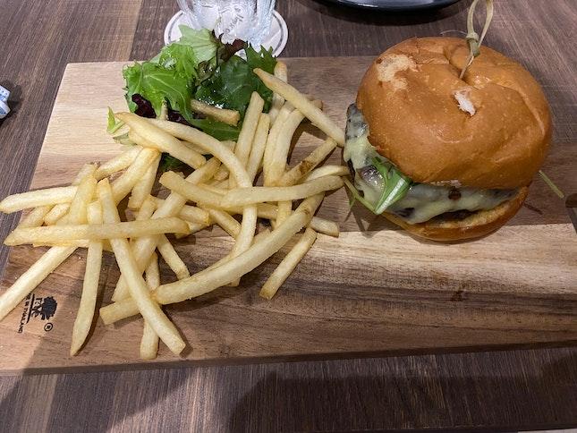Hopscotch Wagyu Burger