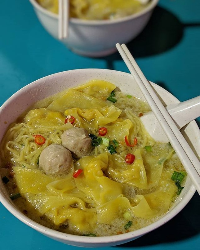 Bak Chor Mee to the rest of Singapore = dry noodles.