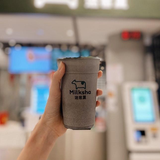 Black Sesame Milk ($4.8)