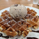 Salted Mister Brown on Waffles ($7.80)