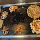 Okonomiyaki and Teppanyaki