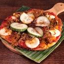 [NEW] Nasi Lemak Pizza ($9)