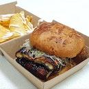 Teriyaki Unagi Burger ($15.90)