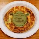Shrek's Waffle ($10)