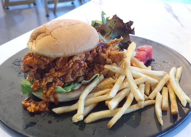 Soft Shell Crab Burger ($19++)