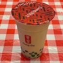 Pandan Pearl-radise Milk Tea ($4.10)