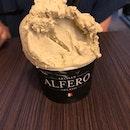 Decent pistachio gelato