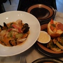 Local Catch Bouillabaisse With Mini Lobster Souffle