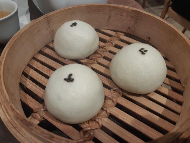 Steamed Sesame Buns