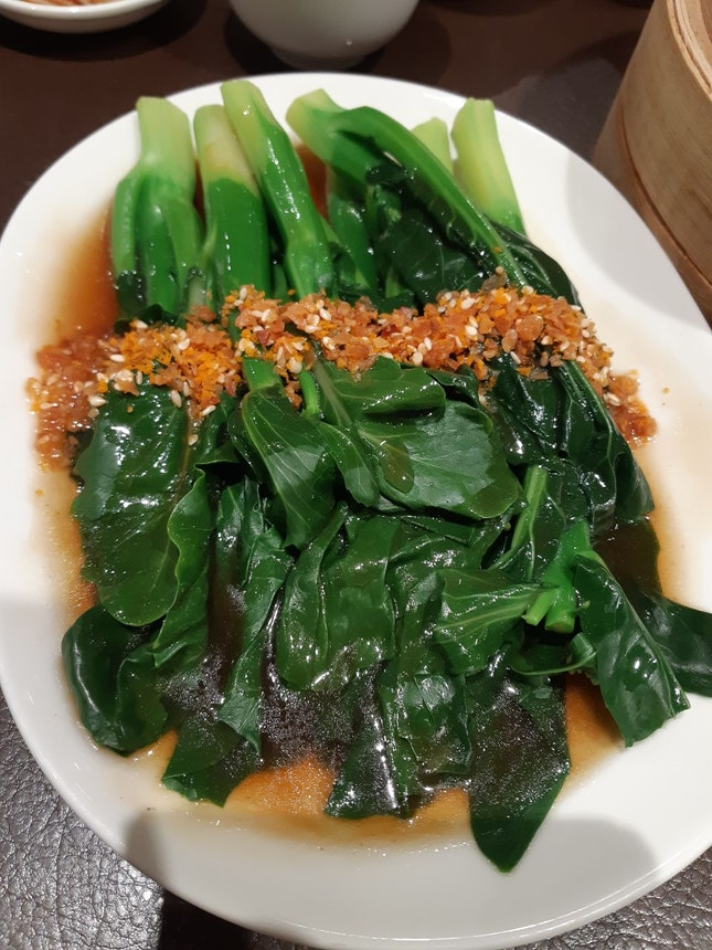 Stir fried Hong Kong kai lan