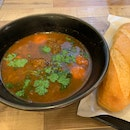 Beef Stew With Baguette
