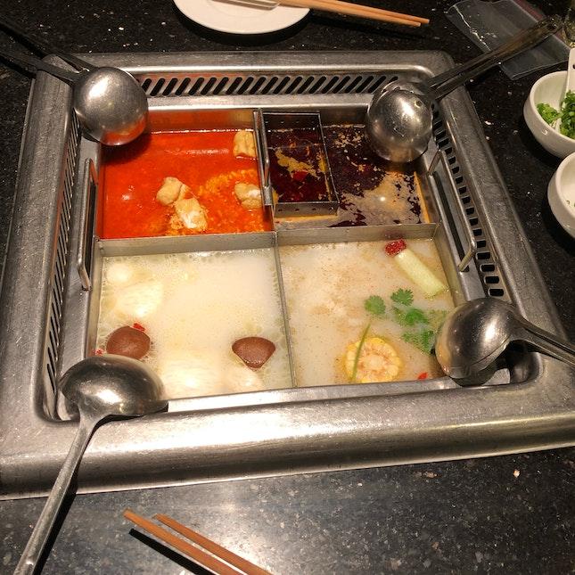 Laksa, Mala, Seafood, Chicken+pork stomach